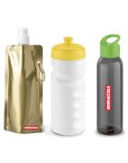 Borracce in plastica personalizzate trasparenti senza BPA   Borraccina